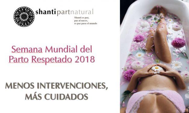 Setmana Mundial del Part i el Naixement Respectats 2018