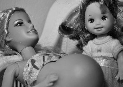 Parto en casa Barbie 03