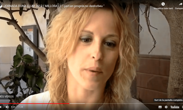 Jornada DonaLlum 2013 : «PARTO EN PROGRESO, NO MOLESTAR»