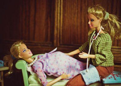 Parto en casa Barbie 01