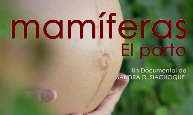 Documental «Mamíferas»